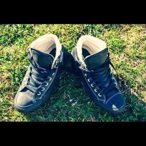 Custom Chuck Taylor Winter Boots